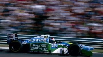 F1 1994 - Jos Verstappen pakt 3e plaats Hongarije