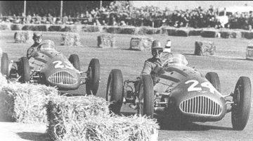 De allereerste Formule 1-race Silverstone 1950