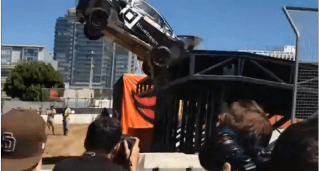 Toomas Heikkinen Crash Bij X Games Rallycross