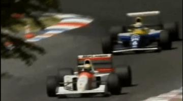 F1 Battle - Senna vs Patrese Hockenheimring 1992