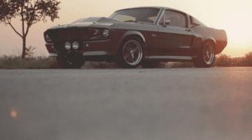 "Originele Shelby Mustang GT500 ""Eleanor"""