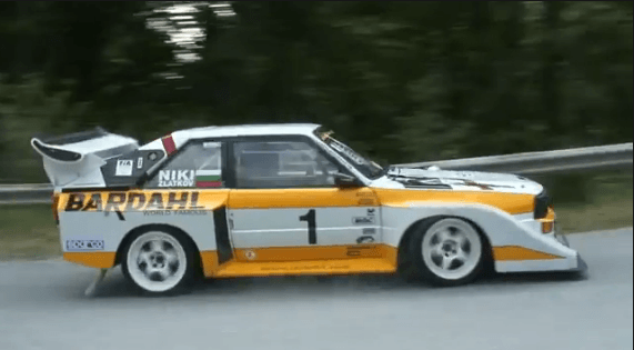Hillclimb - Audi Quattro S1 Laat je Verlangen naar Group B