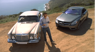 Mercedes Benz 280SE vs Mercedes Benz CL63 AMG