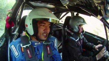 Stuur komt los tijdens Rally Stage