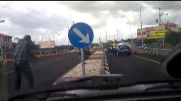 Bestuurder trekt pistool tijdens verkeersruzie