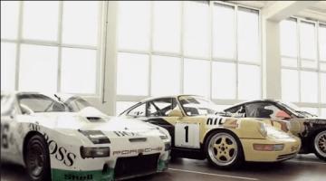 De Geheime Garage van Porsche