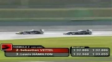 Hamilton vs Vettel in Formula 3