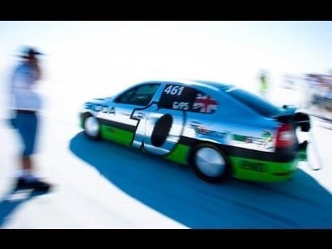 Skoda Octavia VRS World Speed Record