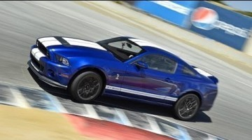 Ford Shelby GT500 Hot Lap Laguna Seca