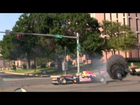 Red Bull Racing F1 Demo in Austin Texas