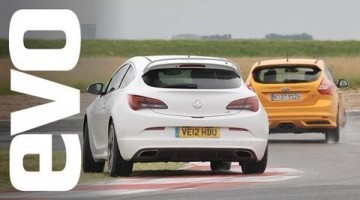 EVO Track Battle: Ford Focus ST vs Opel Astra OPC