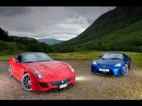 Lexus LFA vs Ferrari 599 GTO