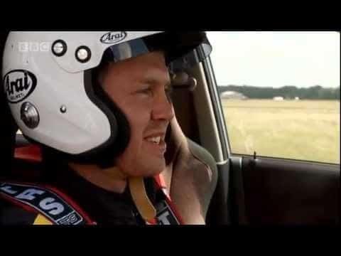 Sebastian Vettel Behind The Scenes Bij Top Gear
