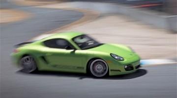 Porsche Cayman R Hot Lap Laguna Seca