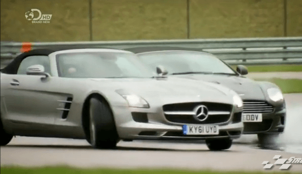 Fifth Gear Season 19 Episode 6 Mercedes-Benz SLS AMG Roadster Review