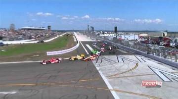 Indycar 2012 - St Petersburg Highlights