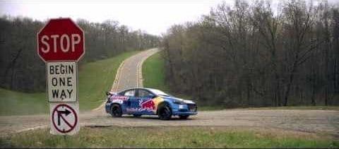 Travis Pastrana en de Dodge Dart RallyCross
