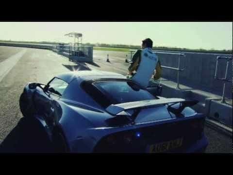 Bruno Senna Test de Lotus Exige S