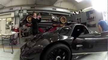 Pagani Zonda 760 RS first video