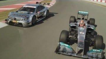 De Schumacher broers en Mercedes Benz 2012