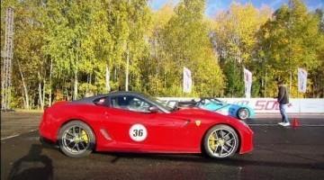 Ferrari 599 GTO vs Corvette ZR1 Lingenfelter vs GT-R Mk2