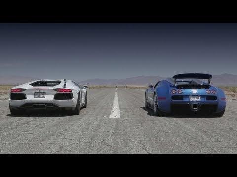 Lamborghini Aventador, Lexus LFA, McLaren MP4-12C, Bugatti Veyron