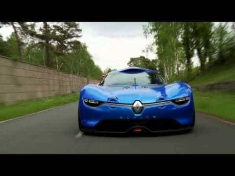 Renault Alpine A110-50 on track