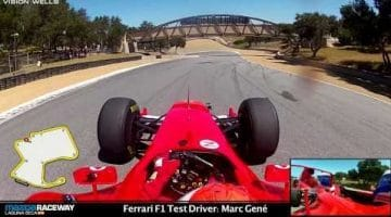 Ferrari F2003-GA pakt ronderecord op Laguna Seca