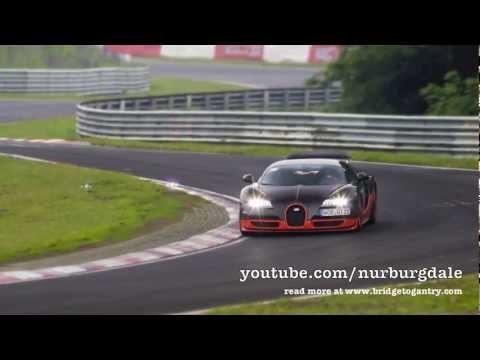 Gaat de Bugatti Veyron Super Sport voor het Ring Record?