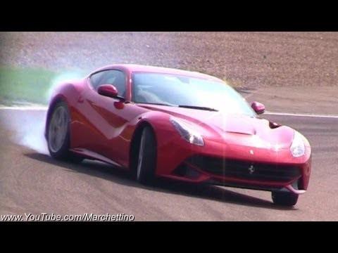 Ferrari F12 Berlinetta op Fiorano