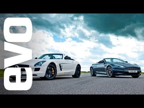 EVO track battle: AM DBS Volante vs Mercedes SLS AMG Roadster