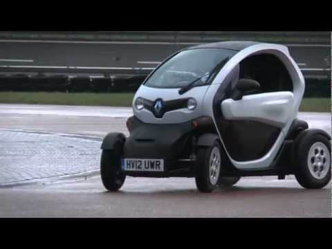 Renault Twizy - Will It Drift?