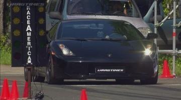 Nissan GT-R Boostlogic vs Lamborghini Gallardo Nera UGR