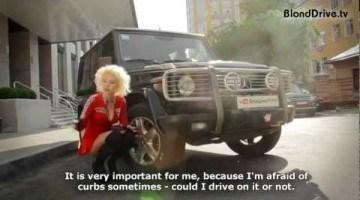 Blond Drive - Mercedes Benz G500