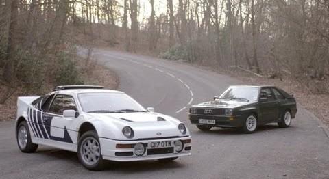 DRIVE - Chris Harris Test Ford RS200 & Audi Sport Quattro
