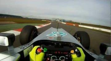 Mercedes AMG Petronas F1 W03 Shakedown