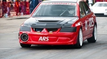 Mitsubishi Lancer Evolution ARS is een 8 sec Monster