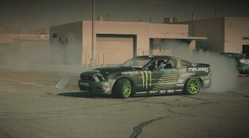 Vaughn Gittin Jr. Drift Het Ford Test Circuit