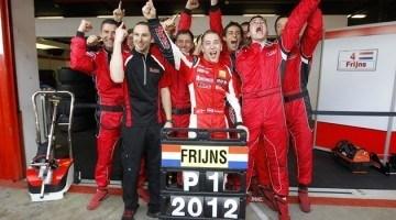 WSR 2012 - Robin Frijns pakt wederom een Titel