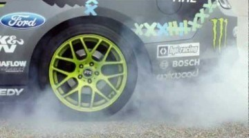 Super Slow Motion Tire Explosion
