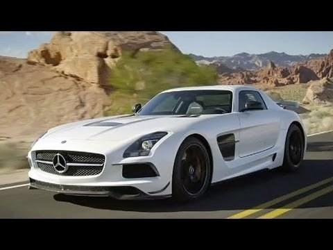 Dit is de Mercedes-Benz SLS AMG Black Series