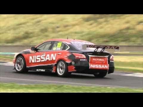 V8 Supercars 2012 - Shake-down Nissan Altima V8