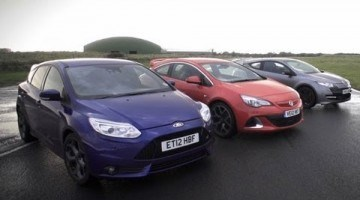 DRIVE - Focus ST vs Astra OPC vs Megane RS