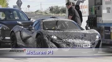McLaren P1 Spyvideo
