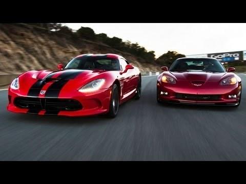 SRT Viper GTS vs Chevrolet Corvette ZR1
