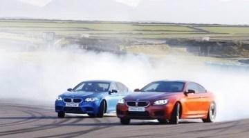 Track Test: BMW M5 vs BMW M6