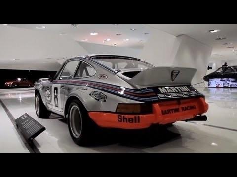 Porsche Museumschatten - Porsche 911 RSR