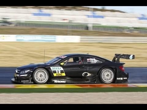 Robert Kubica test Mercedes C-Coupe DTM