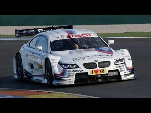 Timo Glock rijdt in 2013 BMW M3 DTM