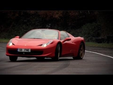 DRIVE - Chris Harris Test Ferrari 458 Spider